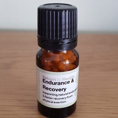 endurance and recovery support homeopathic remedy