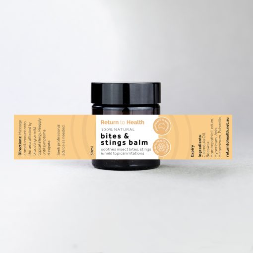 bites and stings balm
