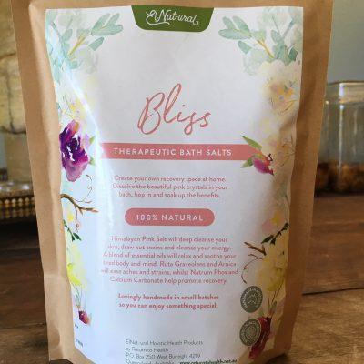 bliss therapeutic bath salts
